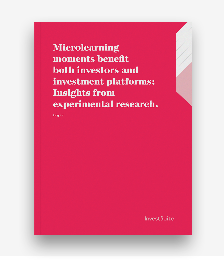 Microlearning moments benefit both investors and investment platforms: Insights from experimental research